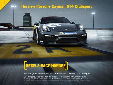 The new Cayman GT4 Clubsport poster