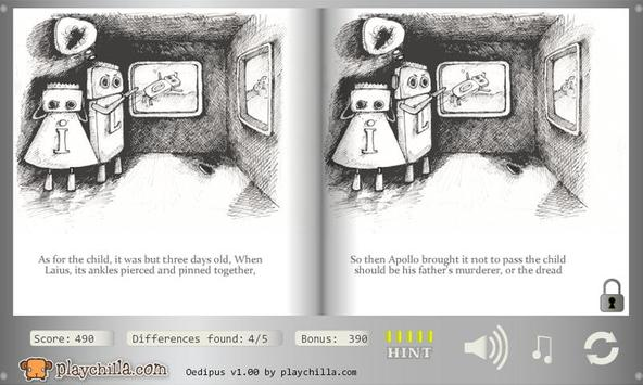 Oedipus - spot the difference apk screenshot