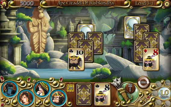 Quest for Seeta Solitaire Free poster