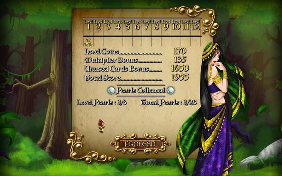 Quest for Seeta Solitaire Free screenshot 4
