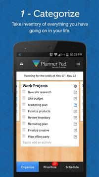 Planner Pads Organizer App poster