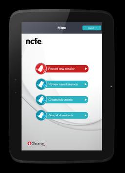 iObserve NCFE poster