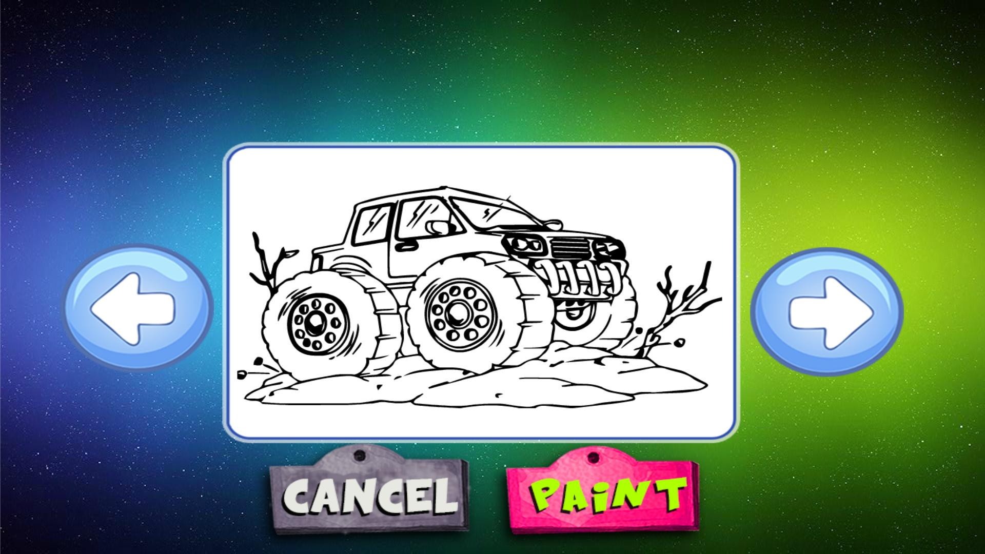 Monster Truck Coloring for Android   APK Download