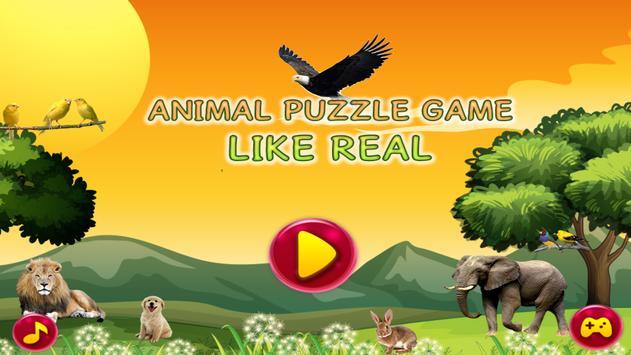 Animal Jigsaw Game Like Real screenshot 8