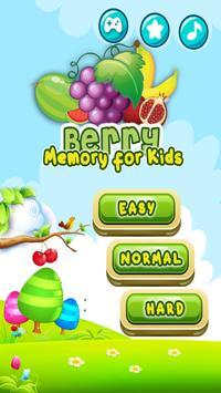 Berry Memory for Kids screenshot 2