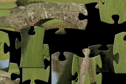 Golf Jigsaw Puzzle 800x600 screenshot 1