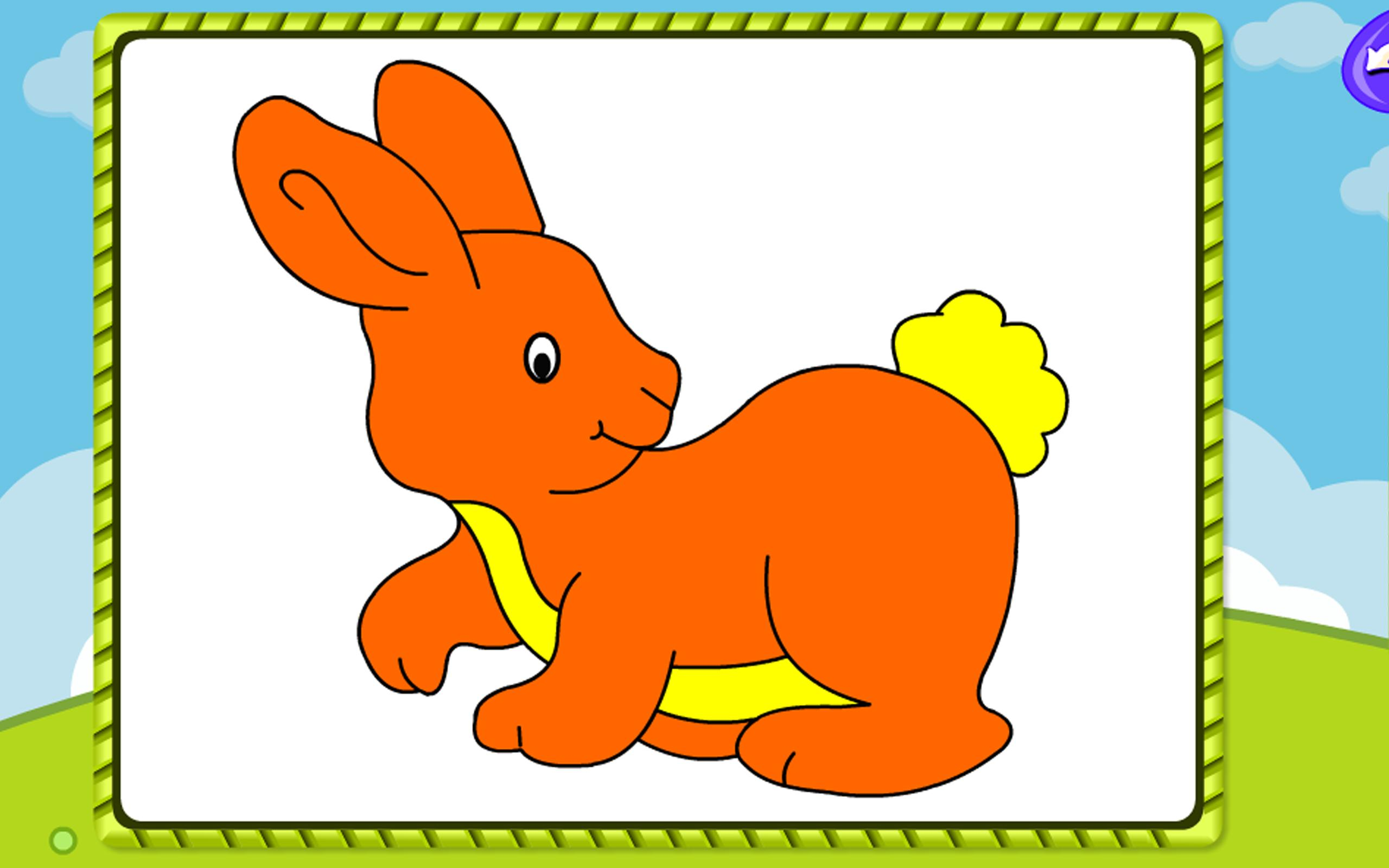 Coloring Games Bunny Friends For Android APK Download