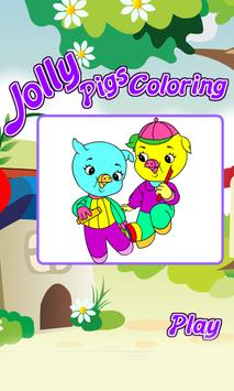 Coloring Pages Kids Jolly poster