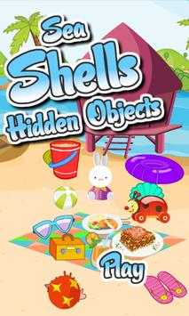 Hidden Objects Sea Shells poster