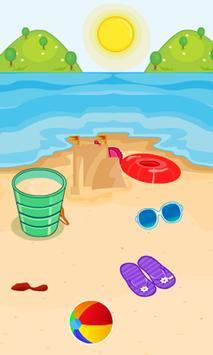 Hidden Objects Sea Shells screenshot 2