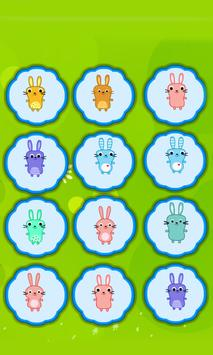 Bunny Matching Game screenshot 1