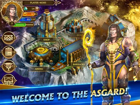 Heroes of Midgard: Thor's Arena - Card Battle Game apk screenshot