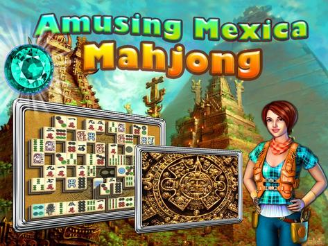 Mahjong Amusing Mexica Free apk screenshot