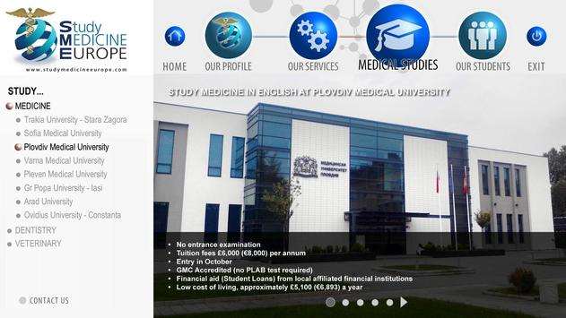 Study Medicine Europe apk screenshot