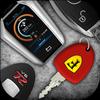 Araba Anahtarları ve motorların sesleri simgesi