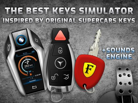 Keys and engine sounds of supercars screenshot 5