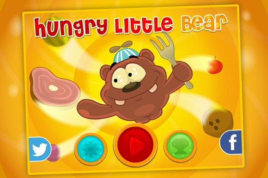 Hungry Little Bear Free poster