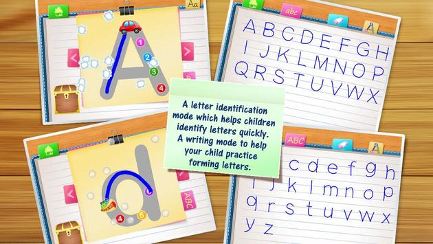 123 Kids Fun ALPHABET: Alphabet Games for Kids poster
