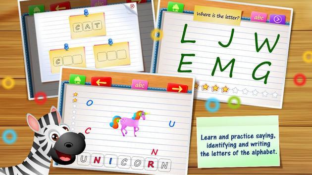 123 Kids Fun ALPHABET: Alphabet Games for Kids screenshot 1