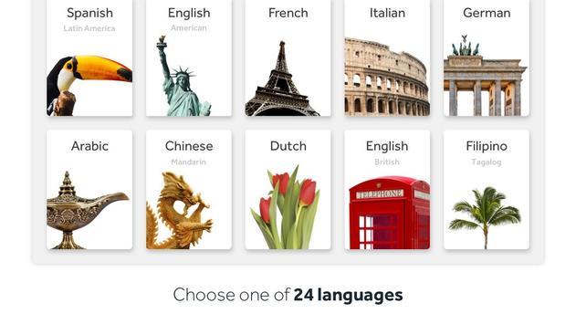 Rosetta Stone:学习说和读新语言 海报