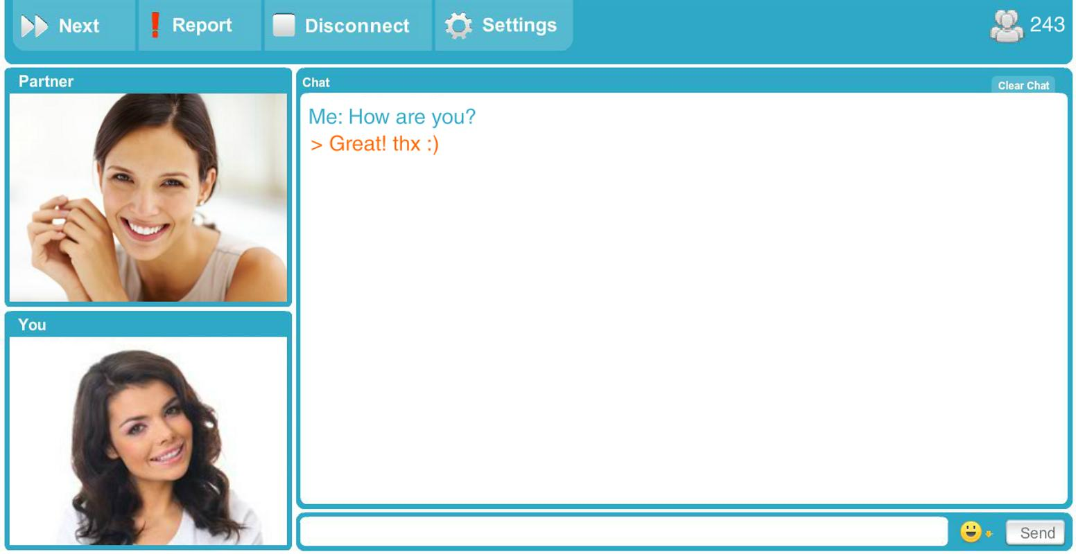 chatroulette para android