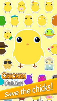 Chicken Driller:Can Your Drill poster
