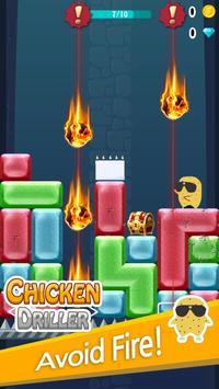 Chicken Driller:Can Your Drill apk screenshot