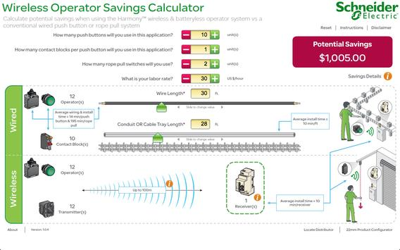 Wireless Savings Calculator poster