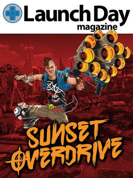 LAUNCH DAY (SUNSET OVERDRIVE) poster