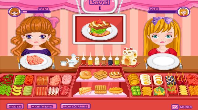Sandwich Maker 2-Cooking Game apk screenshot