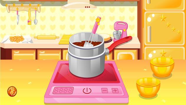 العاب طبخ كيك البندق تصوير الشاشة 17