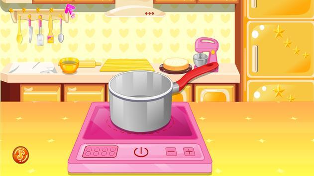 العاب طبخ كيك البندق تصوير الشاشة 1