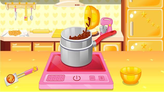 العاب طبخ كيك البندق تصوير الشاشة 2