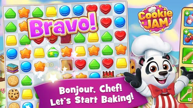 Cookie Jam - Match 3 Games & Free Puzzle Game apk screenshot