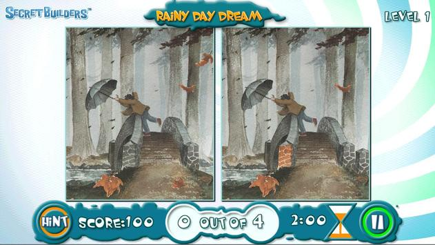 Rainy Day Dream Game FREE screenshot 1