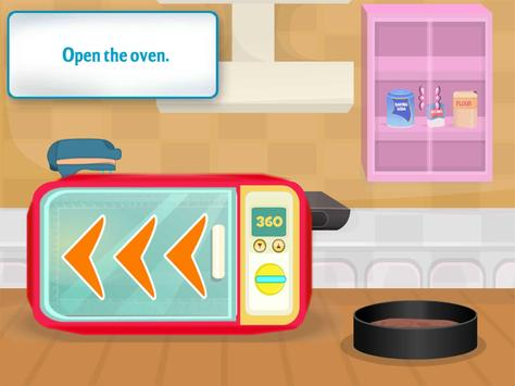 cooking chocolate cake games screenshot 1