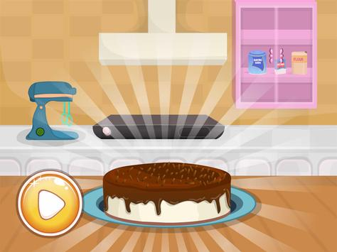 cooking chocolate cake games screenshot 3