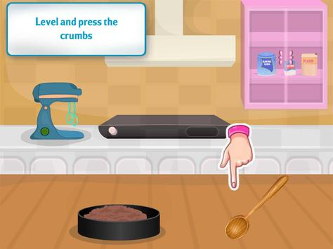 cooking chocolate cake games screenshot 7