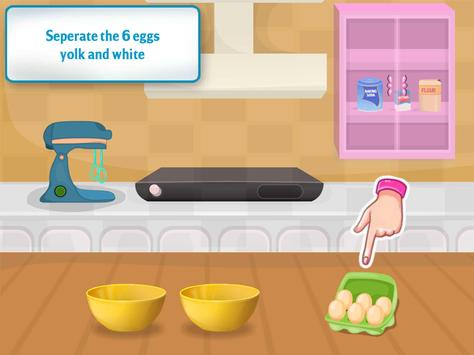 cooking chocolate cake games screenshot 9