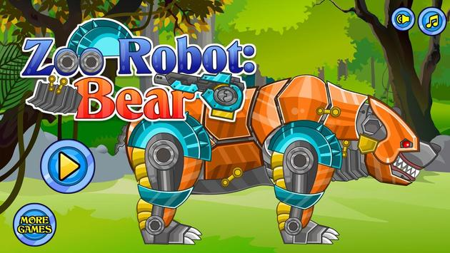 Zoo Robot:Bear poster