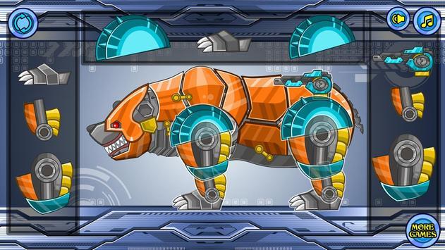 Zoo Robot:Bear screenshot 16