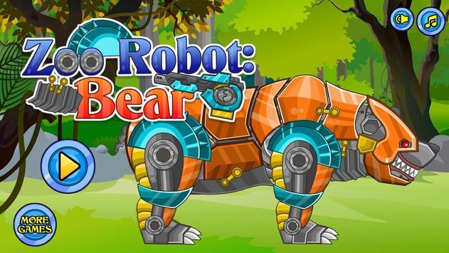 Zoo Robot:Bear screenshot 12