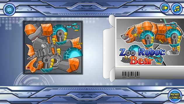 Zoo Robot:Bear screenshot 1