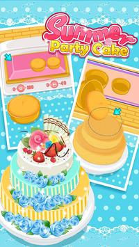 Summer Party Cake apk screenshot