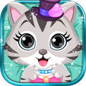 Cute Kitty - Pet Dressup Game icon