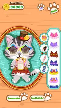 Cute Kitty - Pet Dressup Game screenshot 6