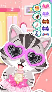 Cute Kitty - Pet Dressup Game screenshot 13