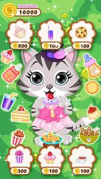 Cute Kitty - Pet Dressup Game screenshot 2