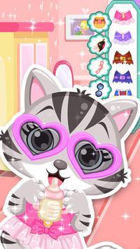 Cute Kitty - Pet Dressup Game screenshot 3