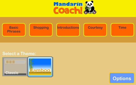 Mandarin Coach poster